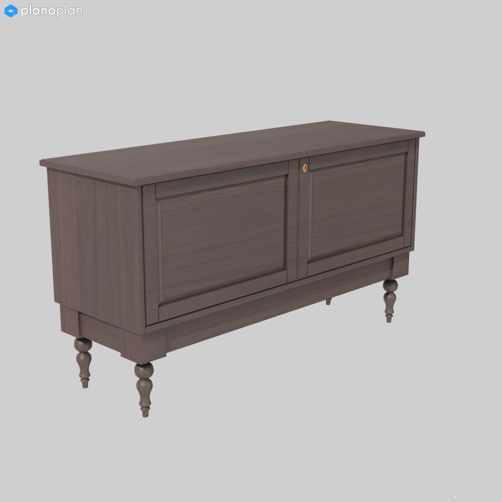 ikea isala sideboard - catalogue d'objets - planoplan