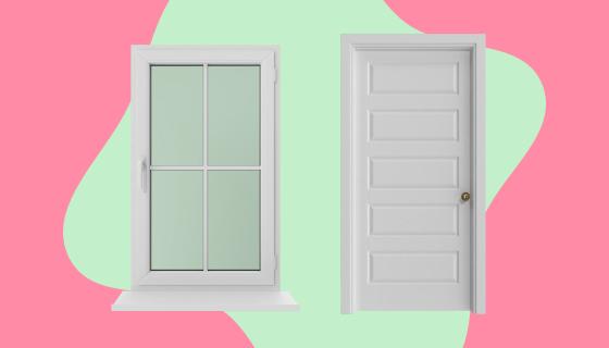 Добавление Дверей иОкон