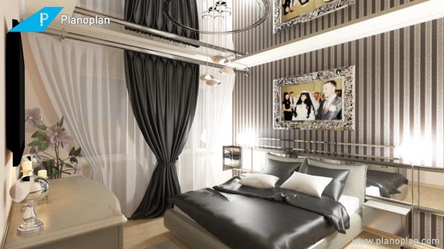 New 3d badroom