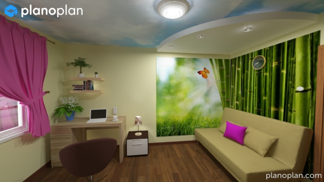 Planoplan free 3d room planner for virtual home design for Online room planner