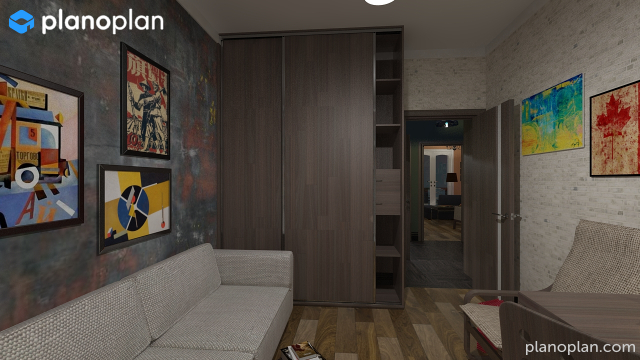 Planoplan free 3d room planner for virtual home design for Online home planner 3d