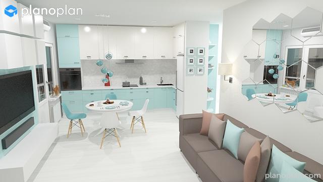 Kostenloser 3d raumplaner wohnung d planen planer online for Wohnung 3d planer
